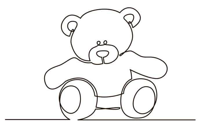 Bear plush toy