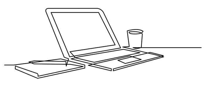 Desk laptop