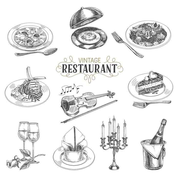 Restaurant stuffs