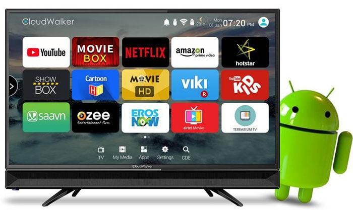 Cloudwalker Cloud TV32SH 32 inch Smart LED TV