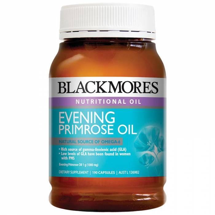 Tinh dầu Hoa Anh Thảo Blackmores 190 viên