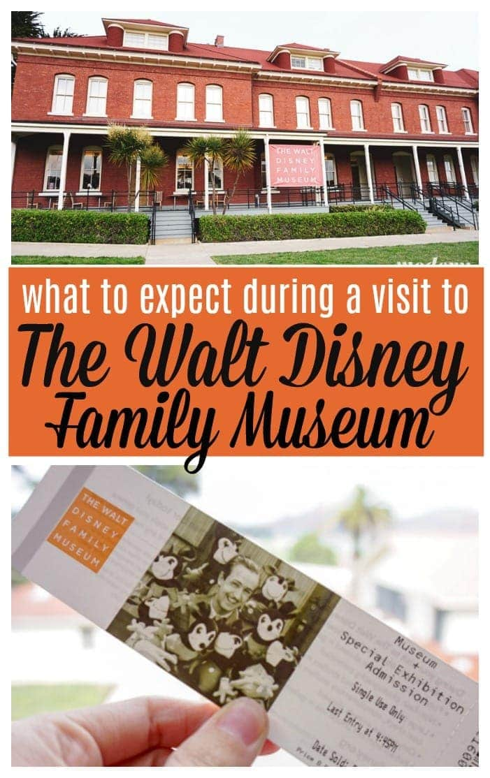 What to expect The Walt Disney Family Museum