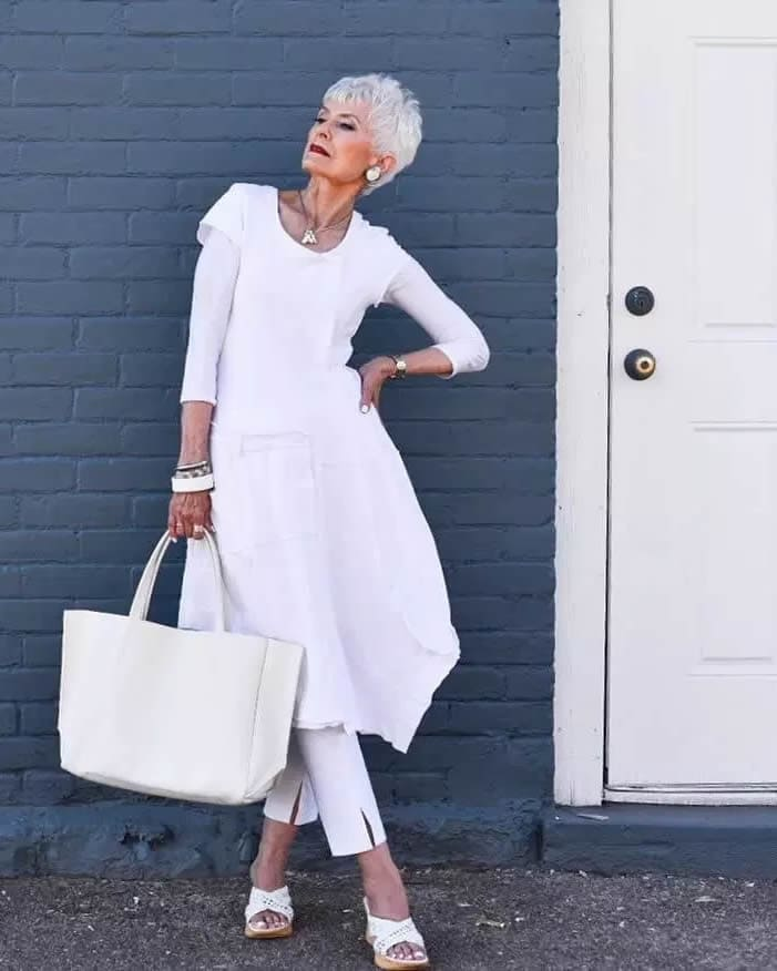 Over 70 style icon Judith Boyd | fashion over 70 | 40plusstyle.com