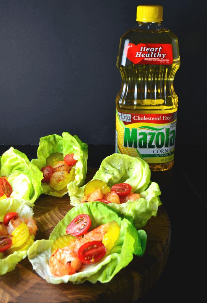 Cajun Shrimp Lettuce Wraps | Delish D'Lites