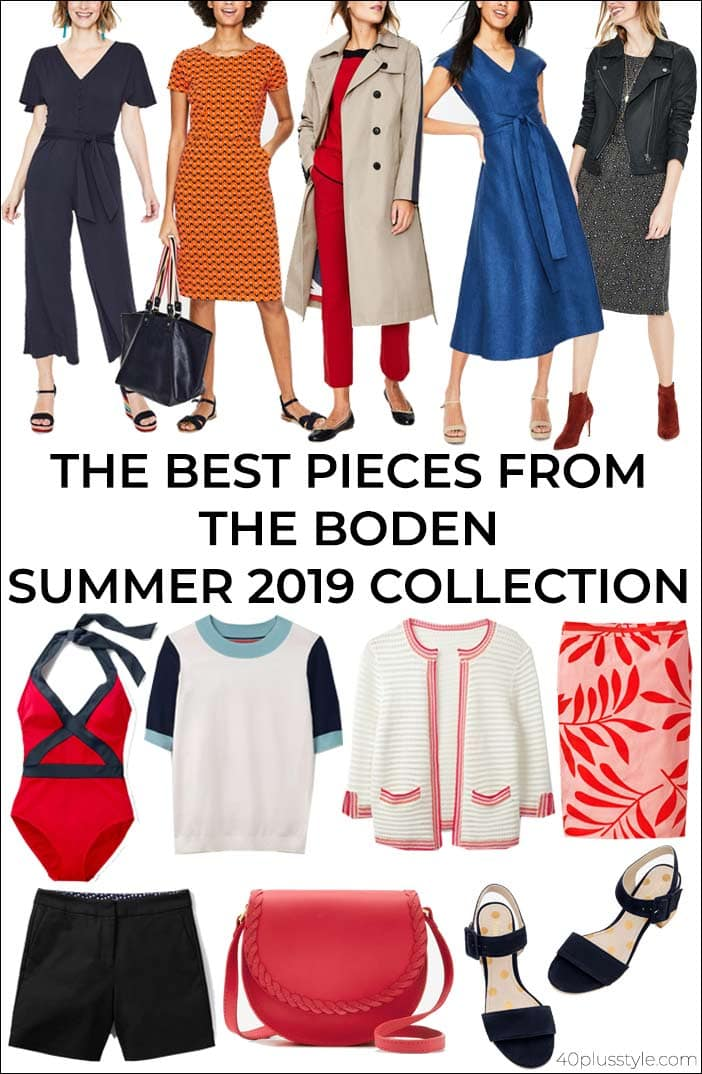 The best pieces from the Boden Summer 2019 Collection | 40plusstyle.com