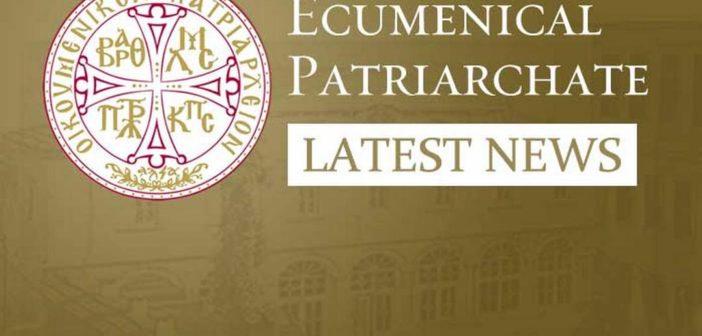Ecumenical Patriarchate Communiqué Regarding Decisions Impacting the GOA