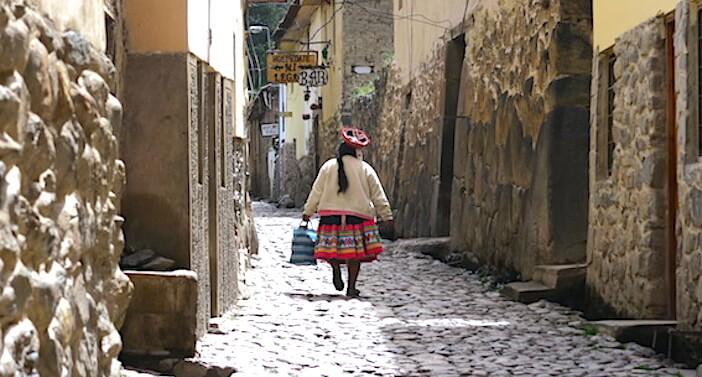 ペルーの女性