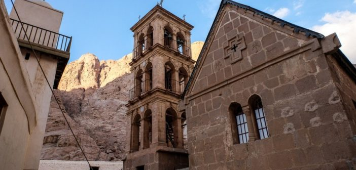 RESTORATION WORK COMPLETED AT ST. CATHERINE'S MONASTERY ON MT. SINAI