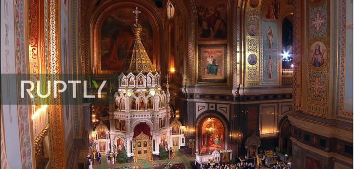 LIVE: Russian Patriarch leads Orthodox Christmas Divine Liturgy in Moscow