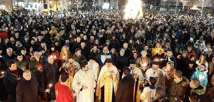 MONTENEGRO: POLITICIANS EXCOMMUNICATED, FAITHFUL TAKE TO THE STREETS, HIERARCHS SPEAK OUT (+ VIDEO)