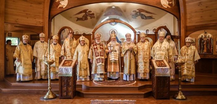 The Holy Synod Proclaims 2020 as a Year of Anniversaries for the Orthodox Church in America