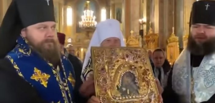VIDEO: Orthodox Metropolitan of Odessa starts Crusade against the Coronavirus