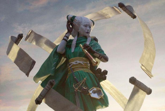 Bant Yorion Decklist Tamiyo Collector of Tales Banner