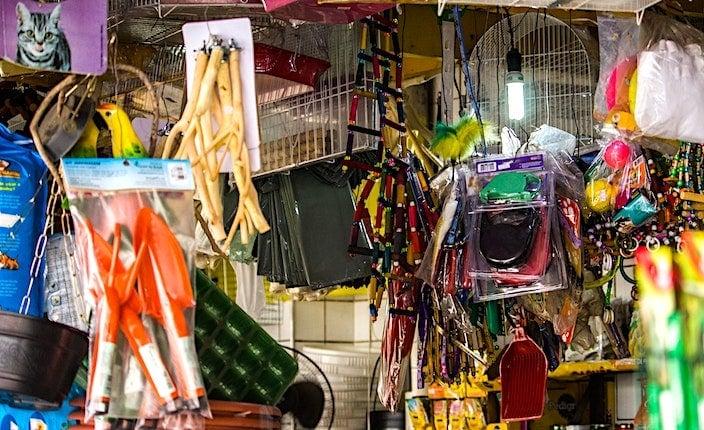 ペター市場の雑貨屋画像