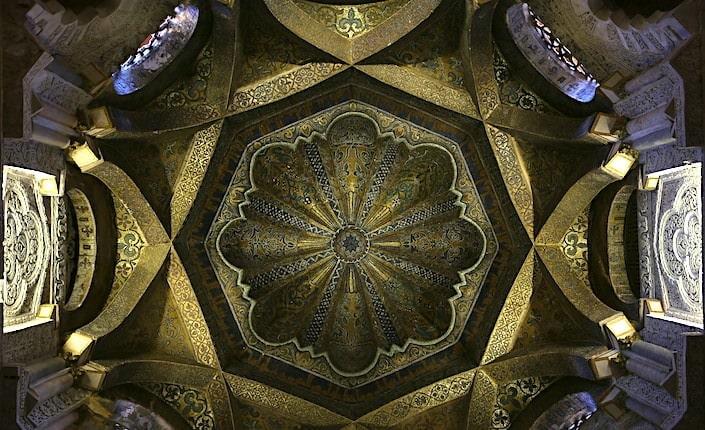 メスキータの天井画像