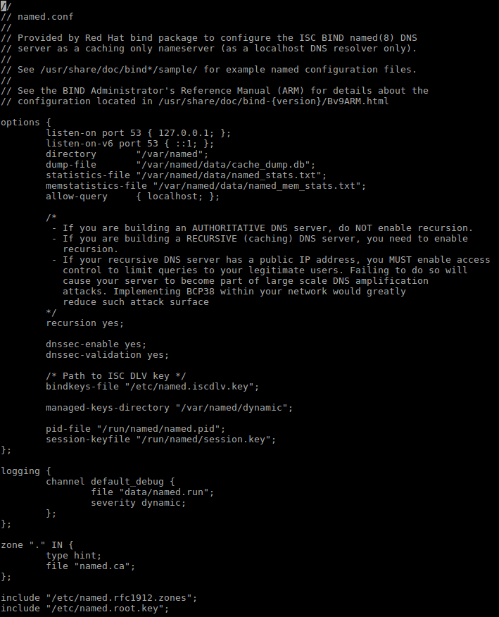 Redhat / DNS Server Installation And Configuration On
