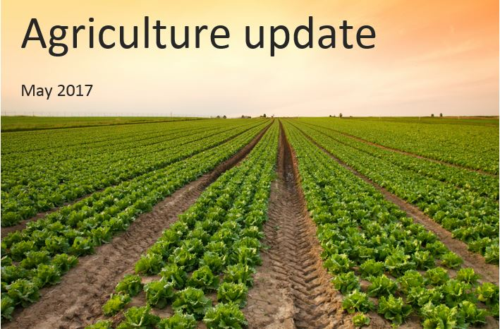 Agriculture update for UK farmers – May 2017