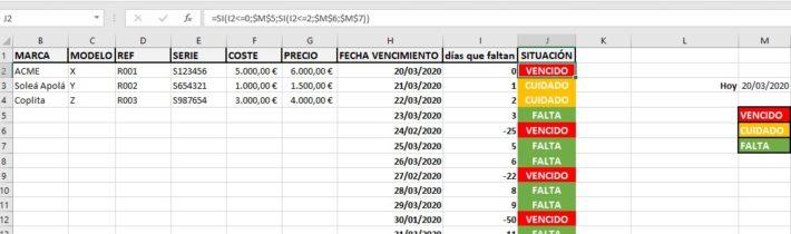 Ejemplos de Excel Avanzado