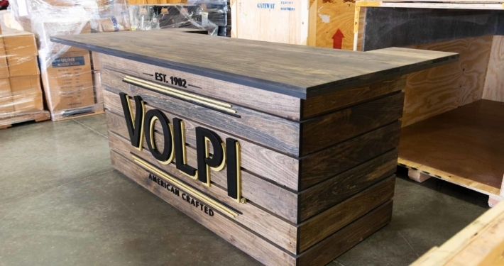 Volpi Counter inside the gateway warehouse