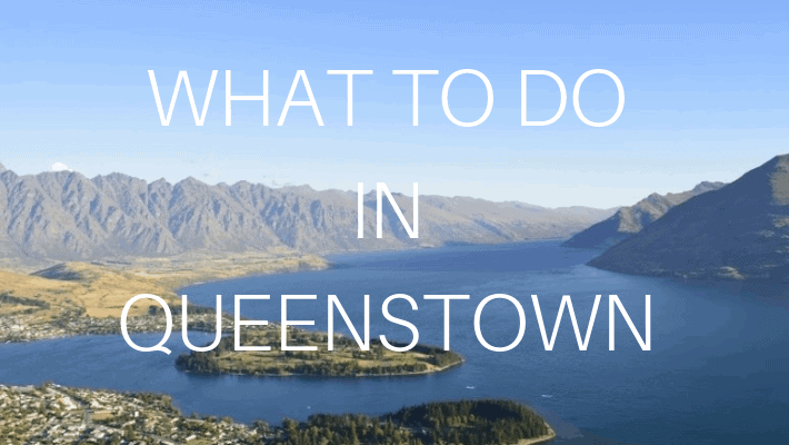 what to do in queenstown