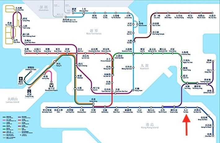 地下鉄路線図の画像