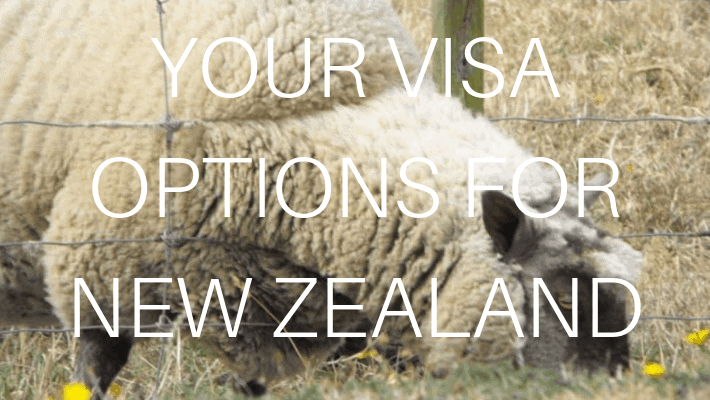 NEW ZEALAND VISA OPTIONS