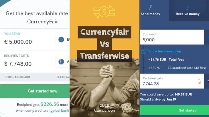 Currencyfair vs Transferwise a detailed comparison