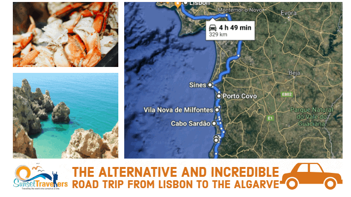 Alternative road trip guide from Lisbon to the Algarve