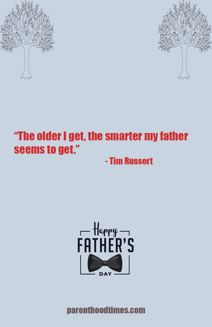 Father's Day card quote
