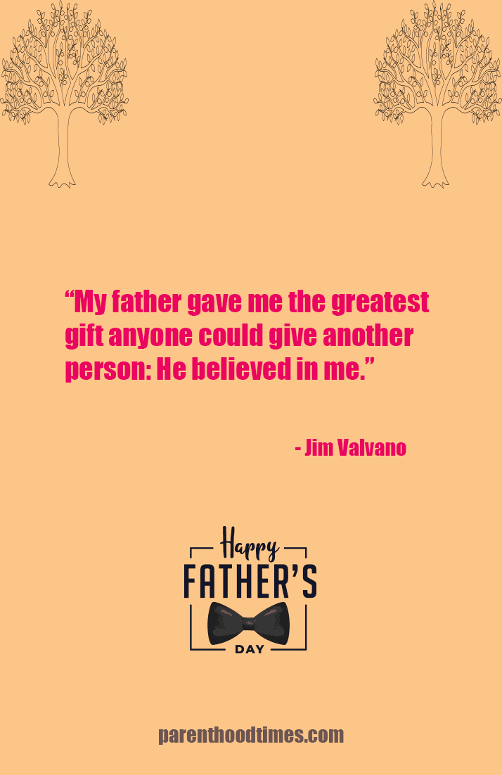 heartfelt Father's Day quote
