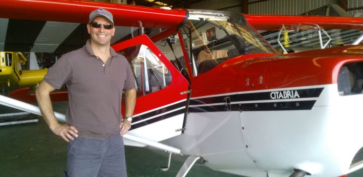Tailwheel Endorsement flight training