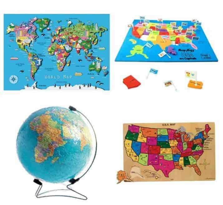 map puzzles for kids
