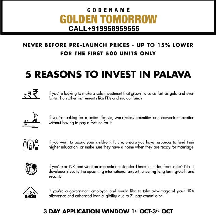 LODHA Golden Tomorrow 9958959555