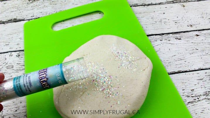 glitter-dough