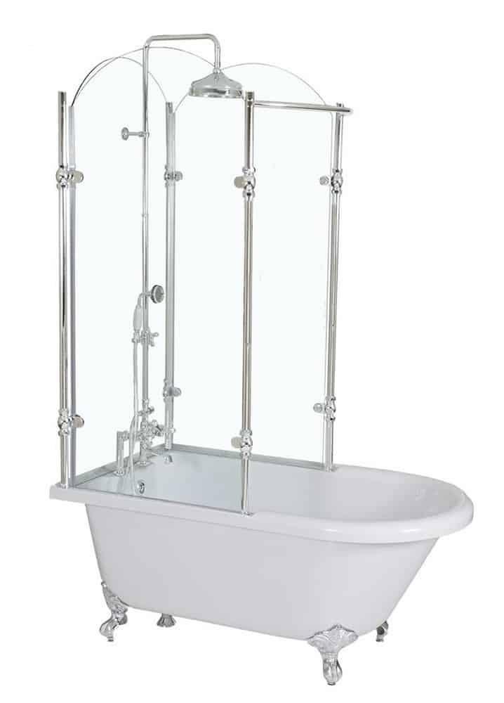 50 Tips Ideas For Choosing Clawfoot Bathtub Accessories