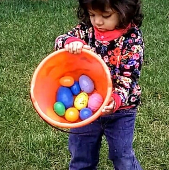 Educational Candy-less No Prep Easter Fun for Your Child