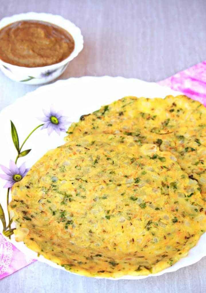 Akki Roti   Karnataka Akki Roti   Rice Flour Roti (Vegan and Gluten Free)