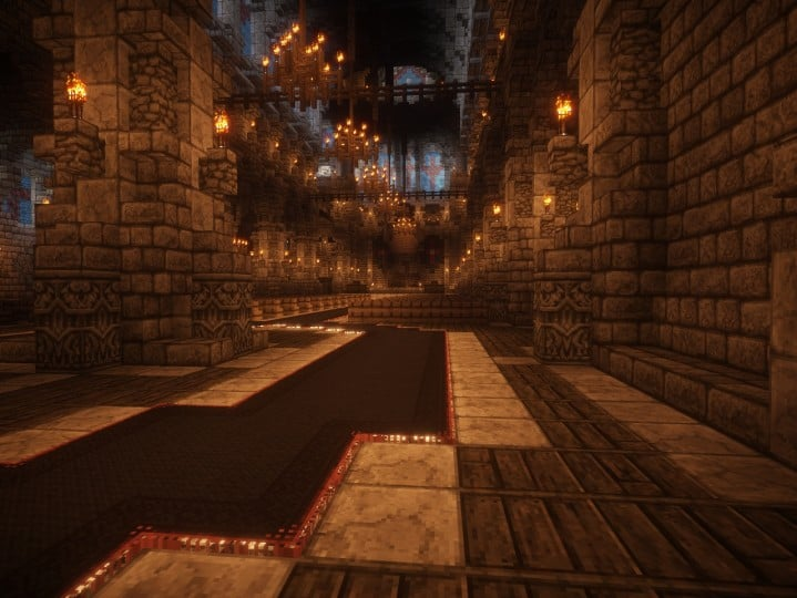 Cathedral of Keddis minecraft castle wall lake mountain download building ideas cementery medieval 10