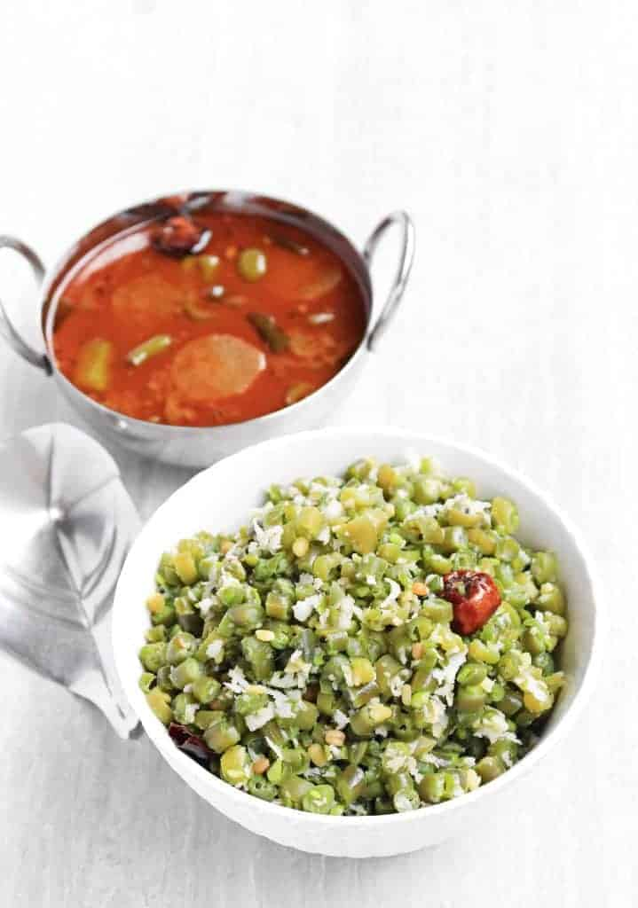 Beans Curry | Beans Poriyal with Coconut