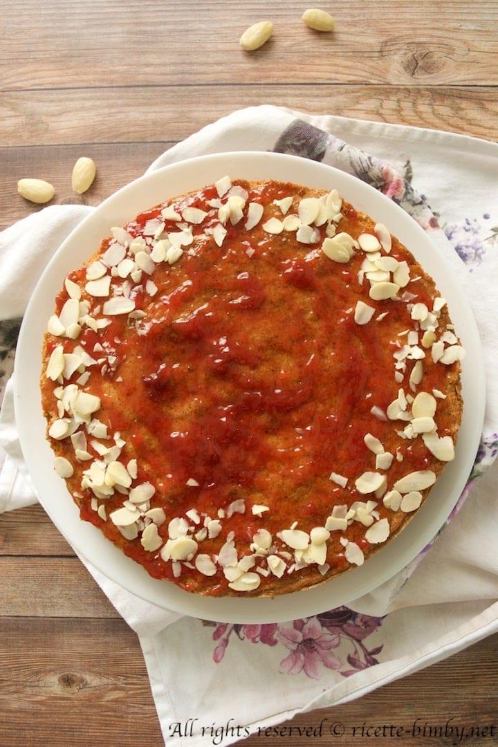 Torta di grano saraceno e ribes rossi bimby