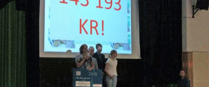 Lysejordet skole med ny rekordinnsamling!