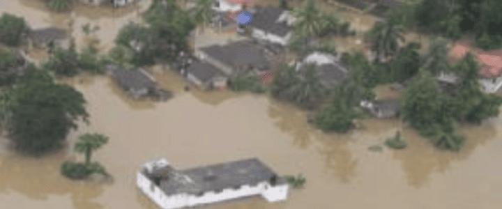 100.000 kr til nødhjelp etter flom på Sri Lanka
