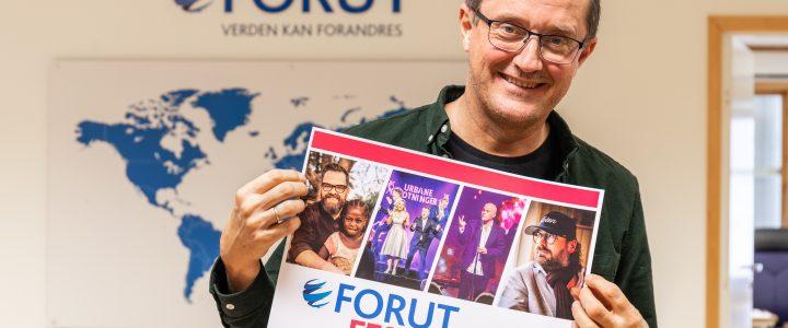 FORUT festaften: Humor, mangfold og musikk med Klaus Sonstad og Zverre Fredrix Danseband