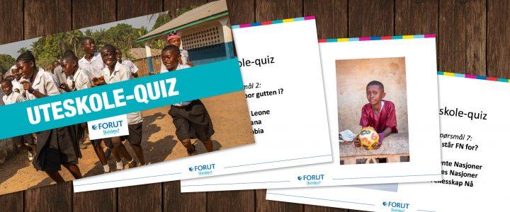 Mer uteskole? Prøv vår quiz!