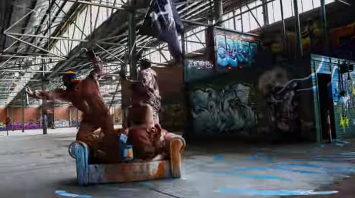 This Video Shows The Power Of Graffiti Is Limitless In The Best Possible Way - @AFH Ambrosia for Heads #hiphop #graffiti Artes & contextos Graffiti