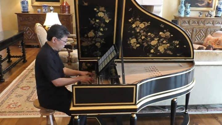 Johann Sebastian Bach - Prelude, Fugue, and Allegro in E-flat, BWV 998 - Dongsok Shin, lautenwerck