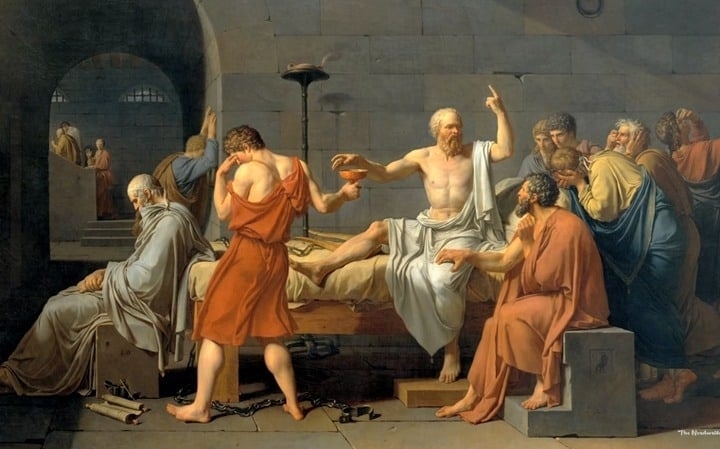 What Makes The Death of Socrates a Great Work of Art
