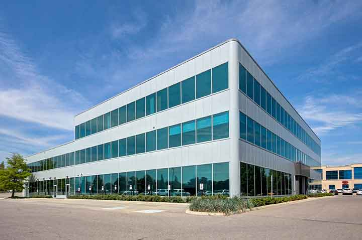 2360 Bristol Circle, Winston Business Park in Oakville, Exterior, Office Space Listings, Chris and Adam, The Office Space Experts