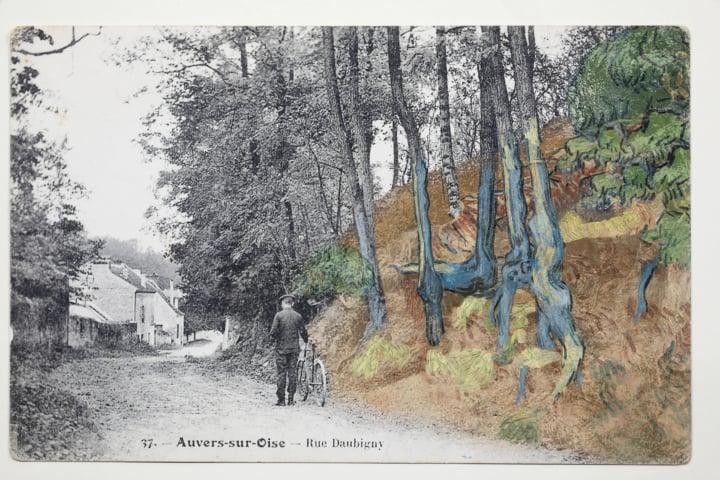Postal centenário mostra onde Van Gogh pintou o último quadro Artes & contextos researchers used a century old postcard to determine where van gogh made his last painting