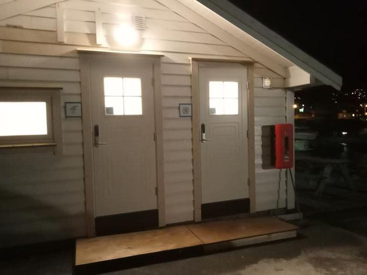 Nytt Sanitæranlegg🥳⛵  Vårt flotte nye sanitæranlegg er endeleg klart for bruk.
